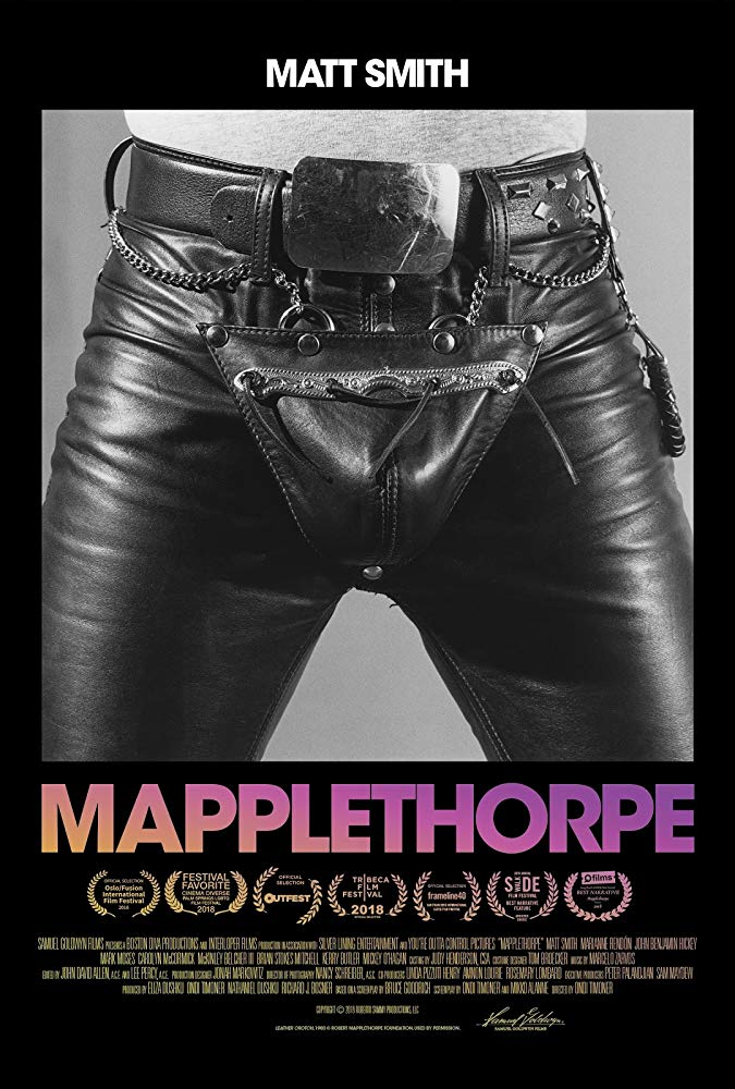 'Mapplethorpe' starring Matt Smith in US cinemas from 1st March 2019.