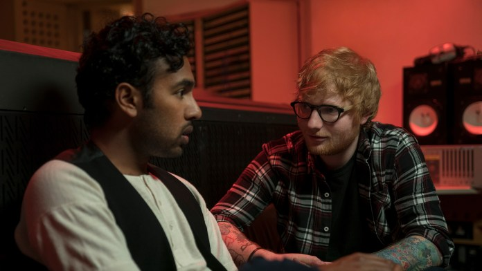Himesh Patel andEd Sheeran in Danny Boyle's Yesterday.