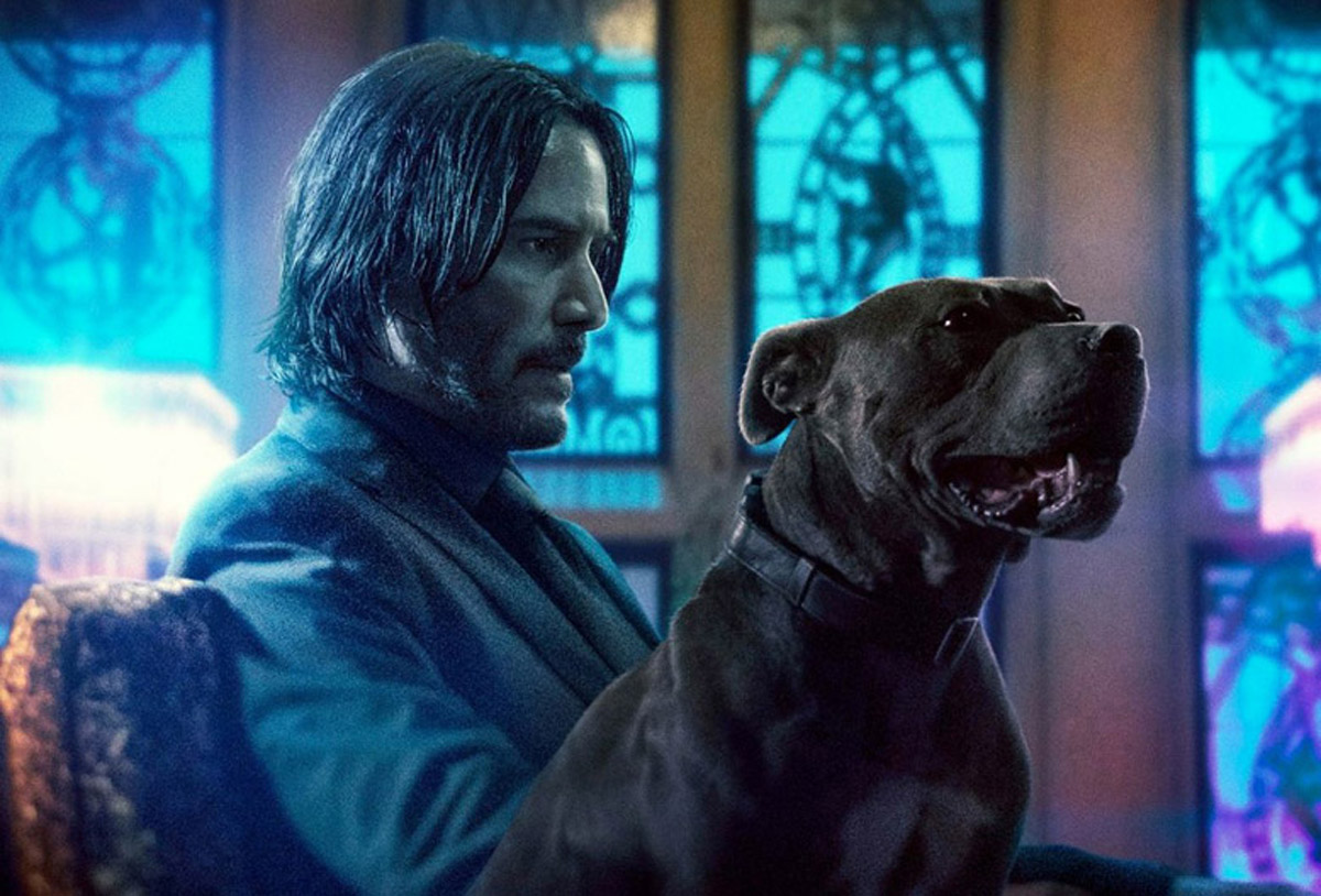 John Wick Chapter 3 poster slice