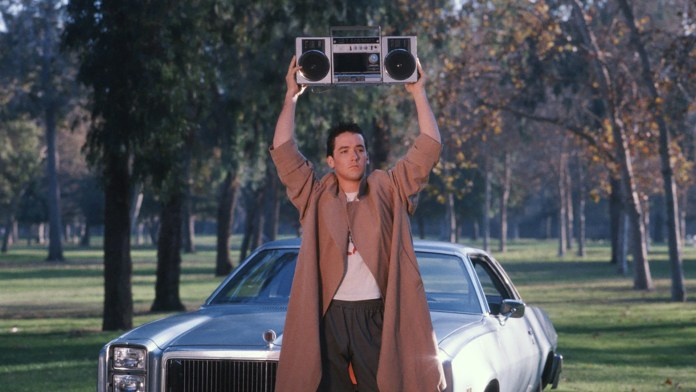 John Cusack in Cameron Crowe's Say Anything...