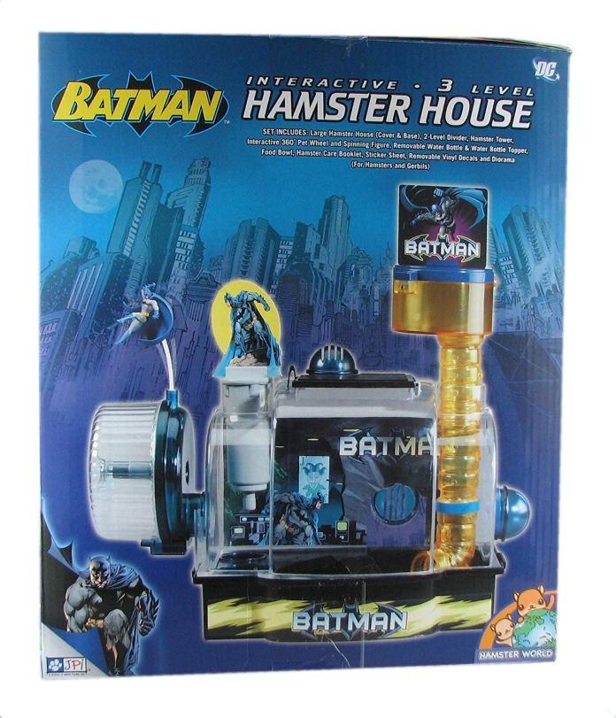 Batman Hamster House