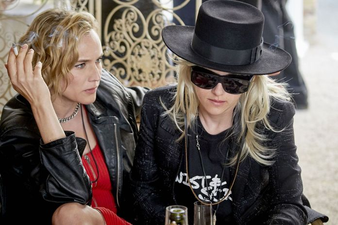 (L-R) Diane Kruger as Eva and Kristen Stewart as Savannah Knoop in the film J.T. LEROY. Photo courtesy of Universal Pictures Content Group.