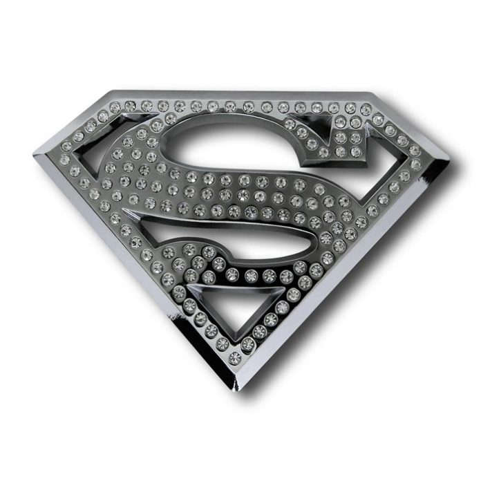 Superman Bling Car Emblem
