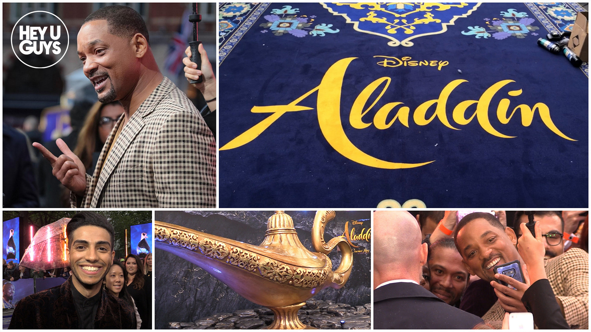 aladdin premiere interviews