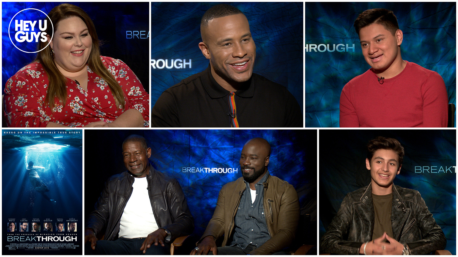 breakthrough cast interviews