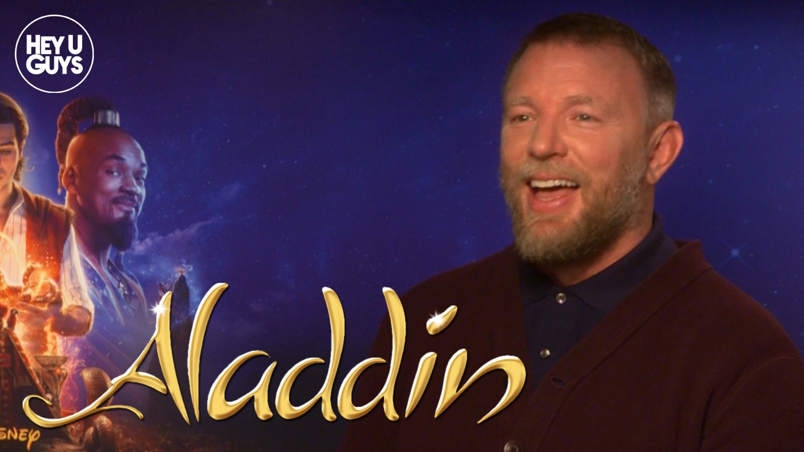 Guy Ritchie - Aladdin Interview