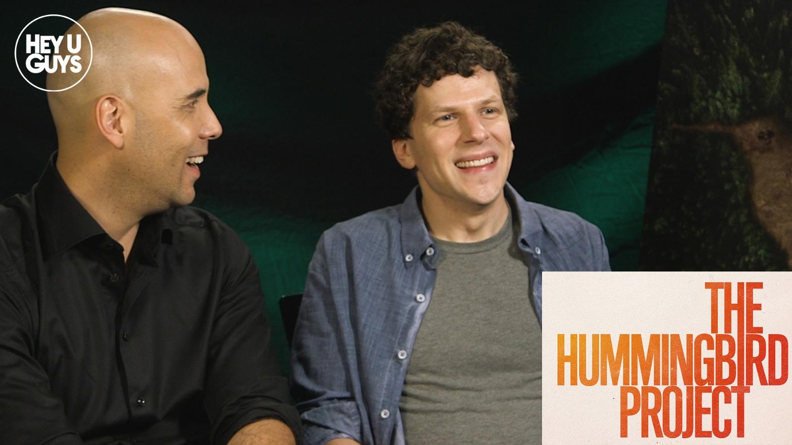 Jesse Eisenberg and Kim Nguyen on The Hummingbird Project ...