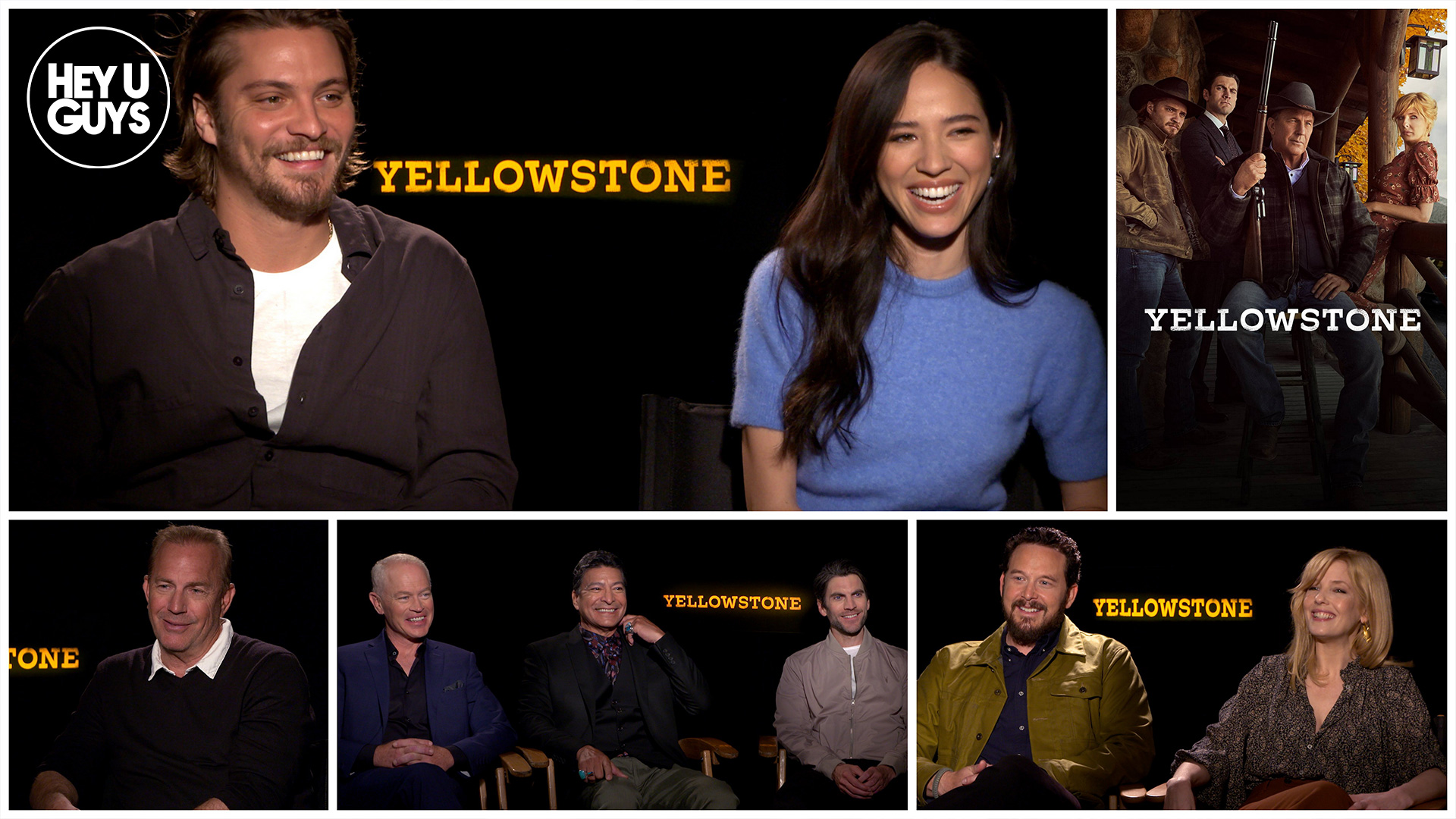 yellowstone season 2 cast interviews