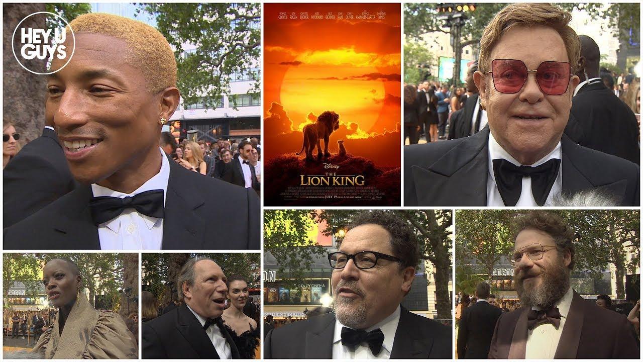The Lion King World Premiere