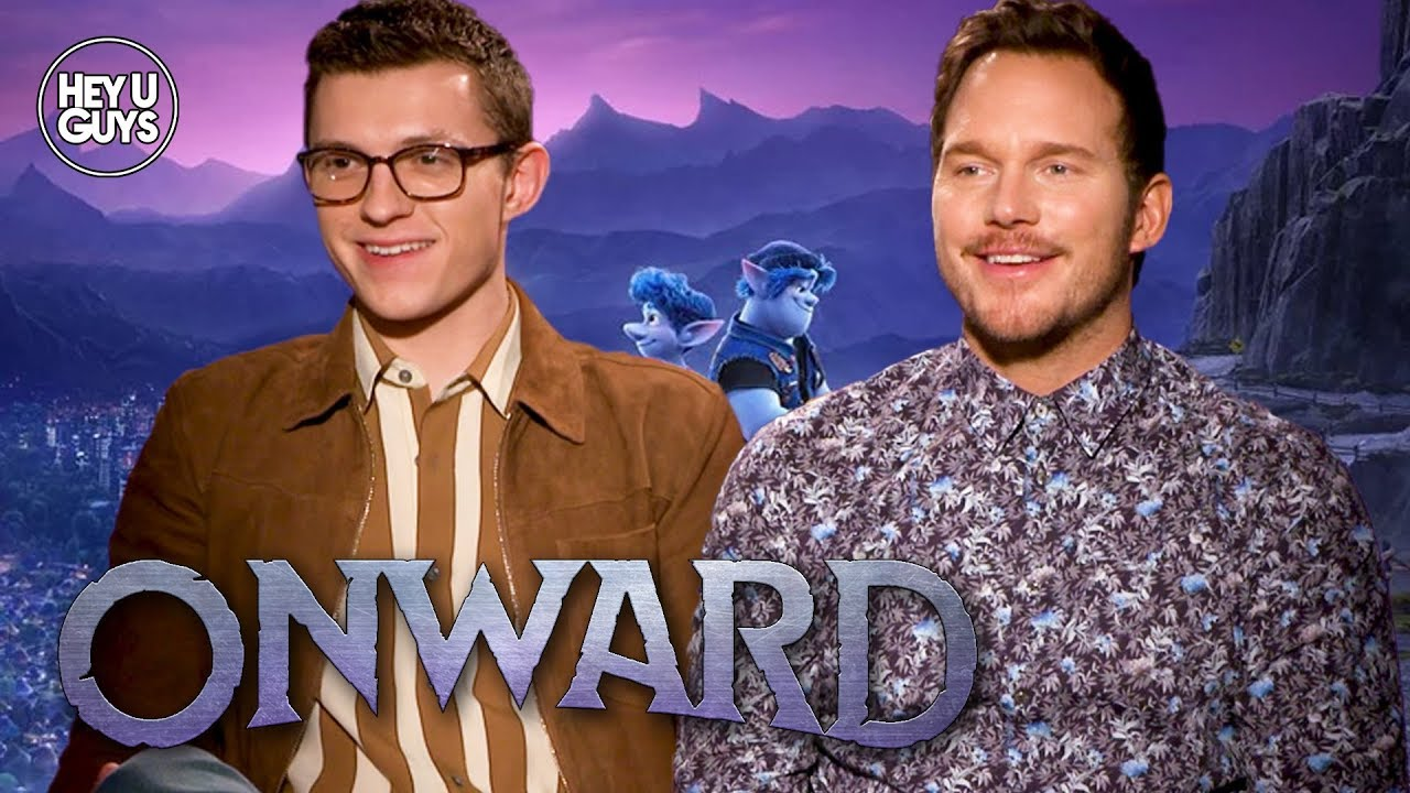 onward chris pratt tom holland