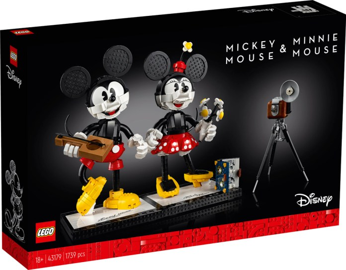 Lego Disney Mickey and Minnie Buildable Character