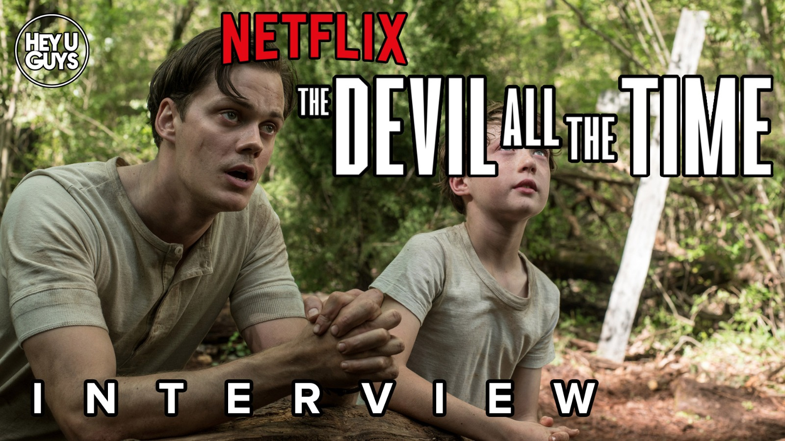 The Devil all the time cast interviewsz