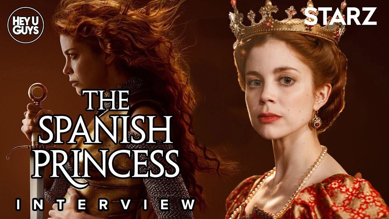 The Spanish Princess cast interviews