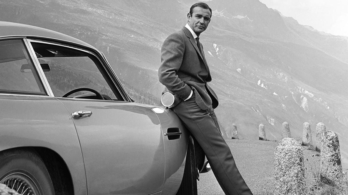 Sean Connery as James Bond 007 in Goldfinger (1964)