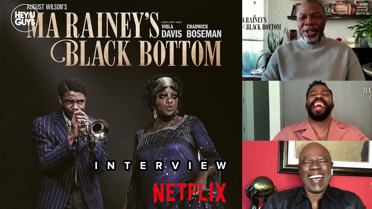 Ma Rainey's Black Bottom Cast Interviews