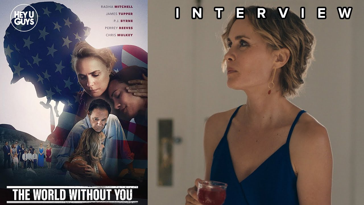 Radha Mitchell The World WIthout You Interview