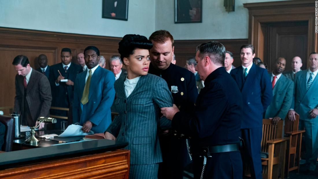 The United States vs. Billie Holiday movie