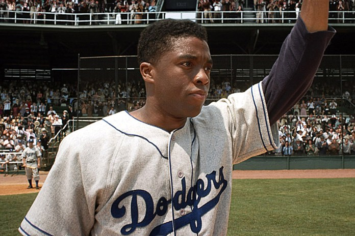 42, (aka FORTY-TWO), Chadwick Boseman