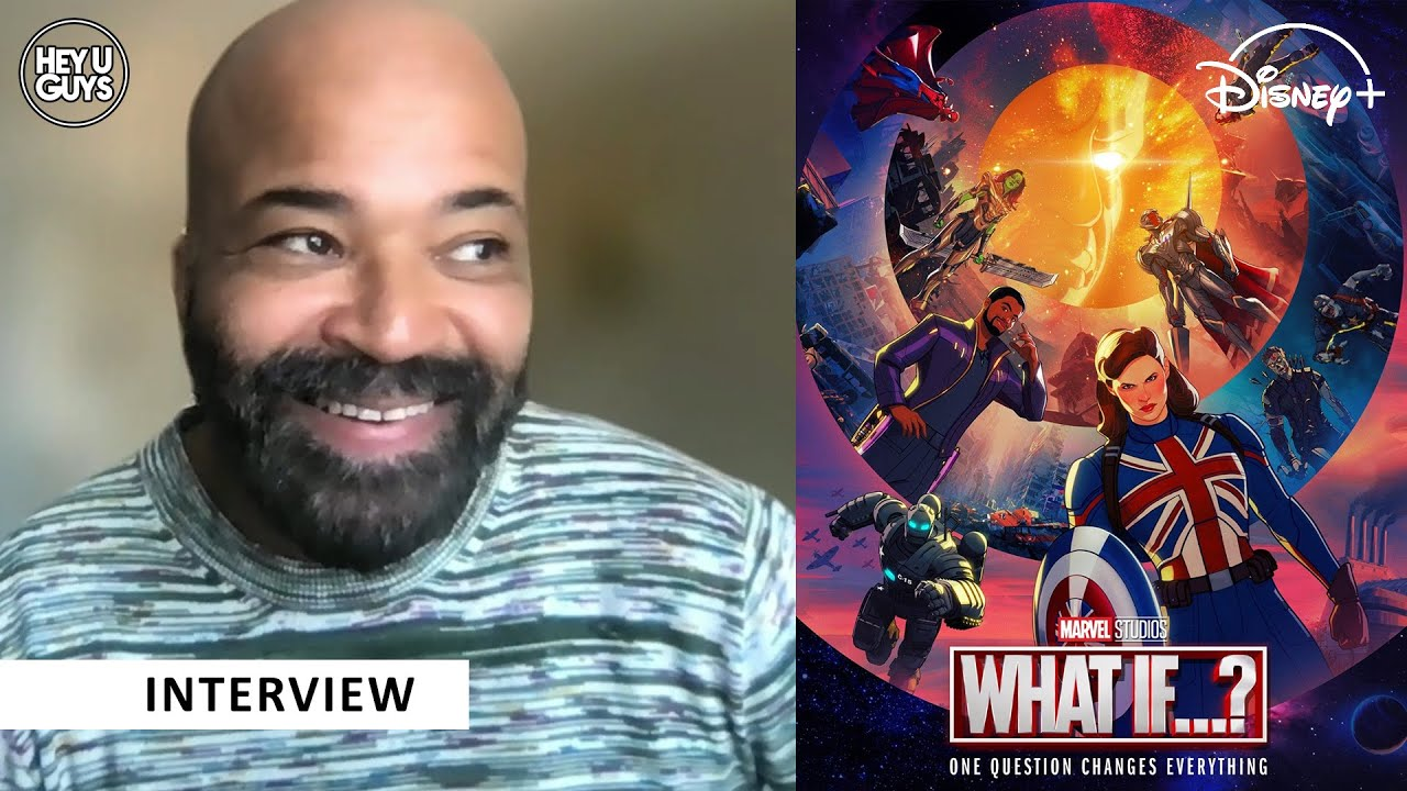 Jeffrey Wright What If interviews