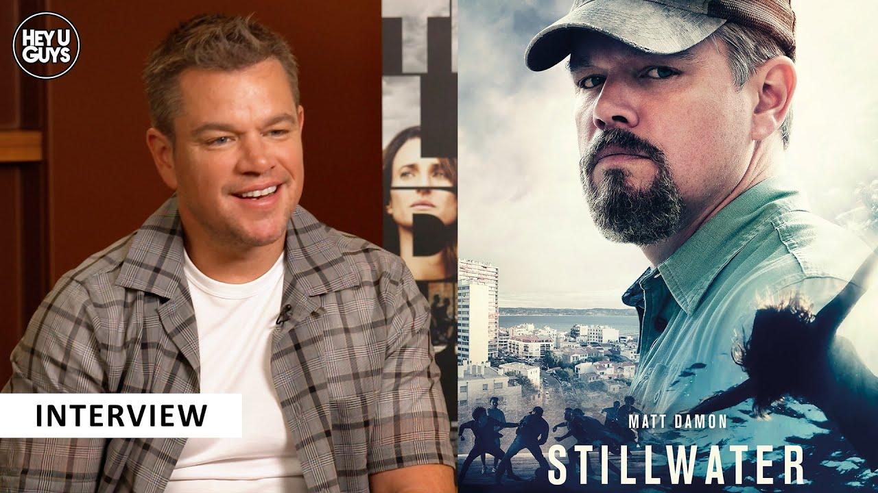 Matt Damon Stillwater interview