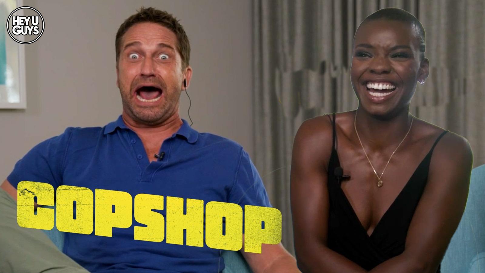 copshop cast interviews
