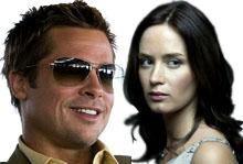 Brad Pitt & Emily Blunt