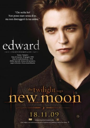 New Moon Poster - Edward