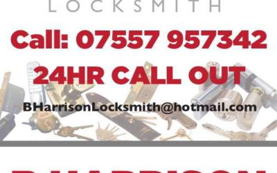 Brand New Re brand for B.Harrison Locksmiths