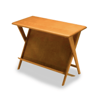 M503G Magazine Rack End Table | Heywood-Wakefield
