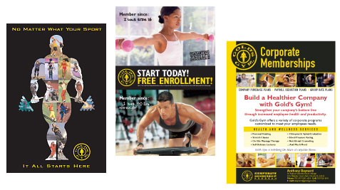 Gold S Gym Flyer Dolap Magnetband Co