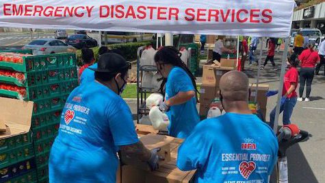 Providing emergency disaster services to Keiki, kupuna, and local families
