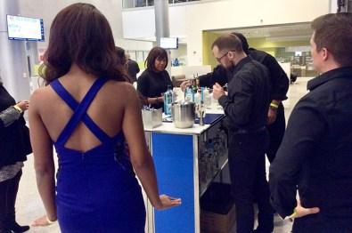 Bombay Sapphire Refreshment Bar at Opening Night VIP Reception