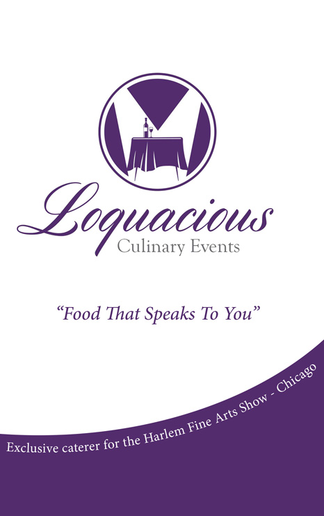 Loquacious Culinary Events Ad
