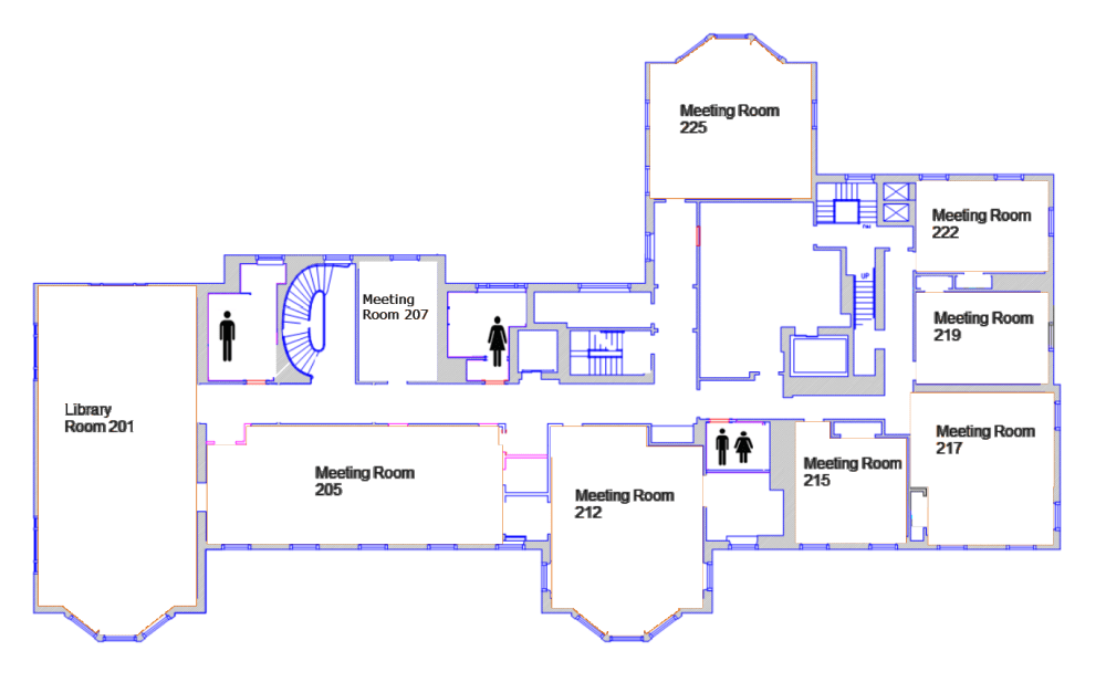 medium resolution of room diagrams capacity