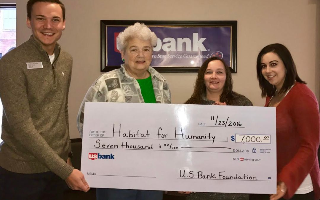 Thank you U.S. Bank Foundation!