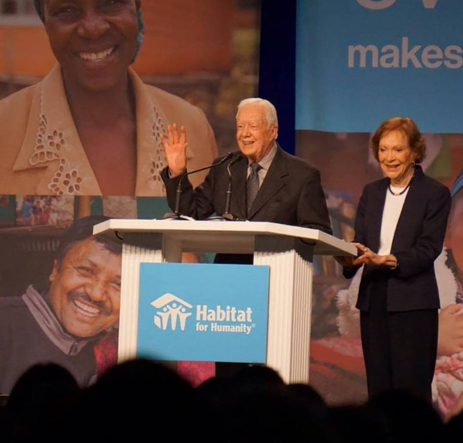 jimmy carter carter work project habitat for humanity south bend mishawaka indiana 2018 rosalynn carter jimmy carter work project carter work project carter work project