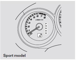 Automatic Transmission :: Driving :: Honda Fit 2001-2008
