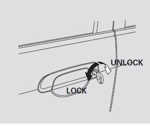 Door Locks :: Instruments and Controls :: Honda Fit 2001