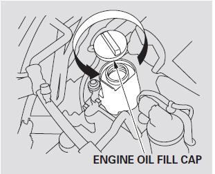 Adding Engine Oil :: Maintenance :: Honda Fit 2001-2008