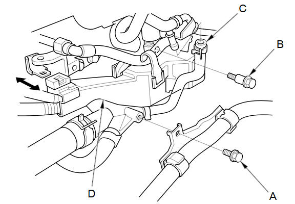 Removal :: Water Outlet Removal and Installation :: Engine