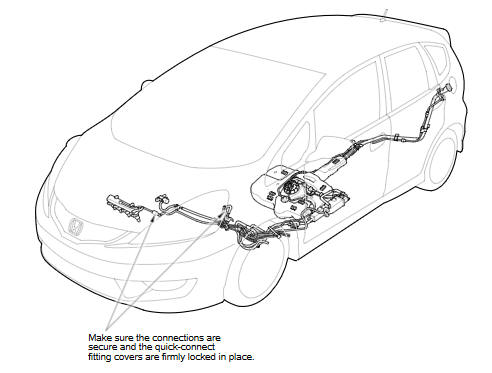 Fuel Line Inspection :: Fuel System :: Engine Block