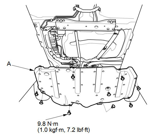 Fuel Tank Replacement :: Fuel System :: Engine Block