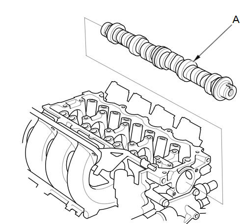 Camshaft Installation :: Valvetrain :: Engine Block