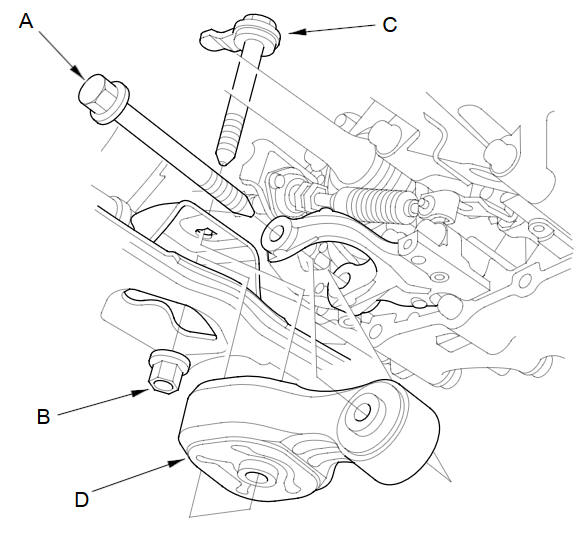 Automatic Transmission Removal (A/T) :: Automatic
