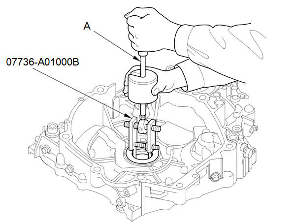 Torque Converter Housing Mainshaft Bearing and Oil Seal