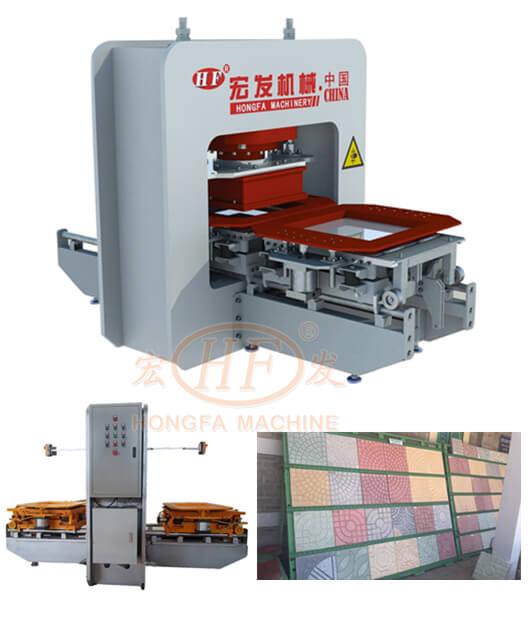 reliable terrazzo tile making machine