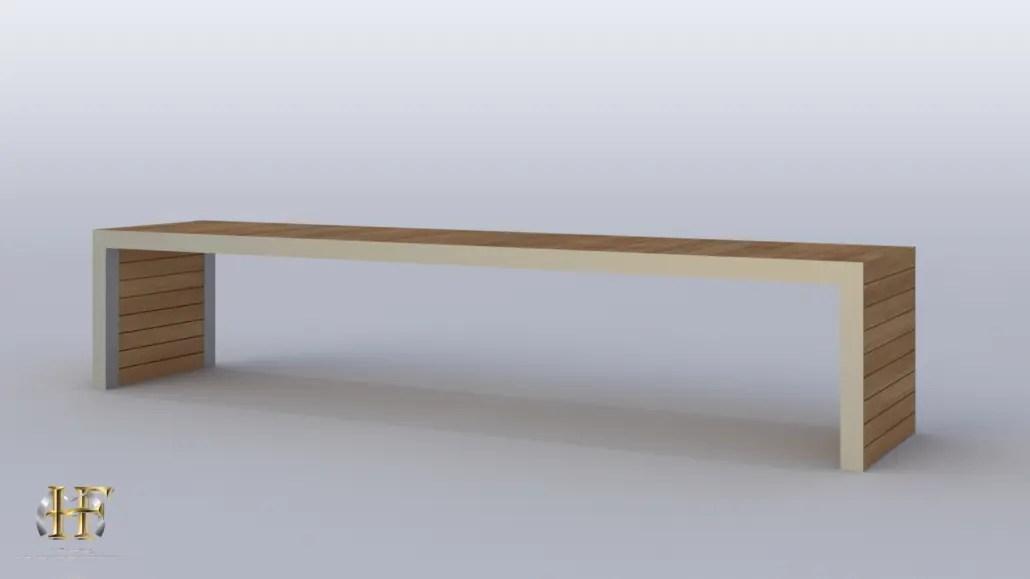 mobilier en fer metal ou acier