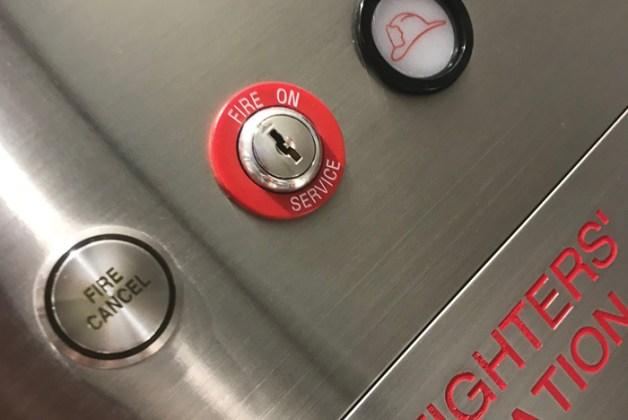 Resultado de imagen de elevator emergency fire