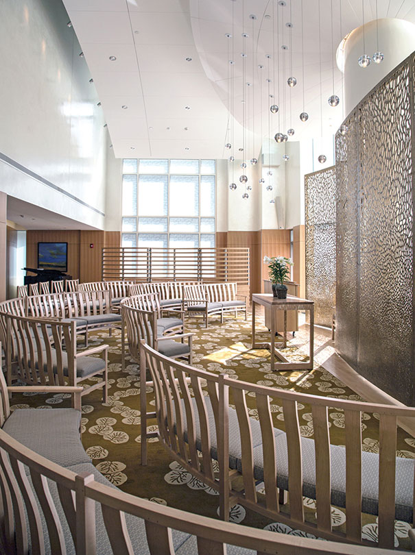 Childrens hospital features unique chapel  HFM