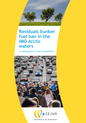 Residuals bunker fuel ban in the IMO Arctic waters CE Delft: Residuals bunker fuel ban in the IMO Arctic waters: An assessment of costs and benefits